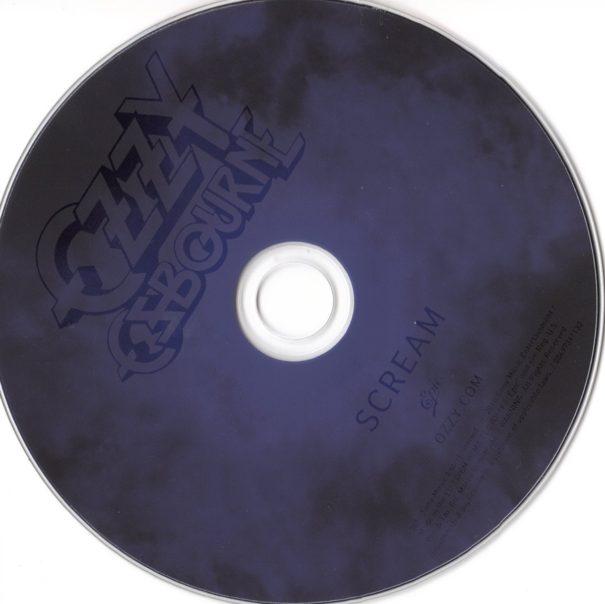 cd scream ozzy
